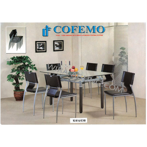Table TC 01 & Chair CC 03