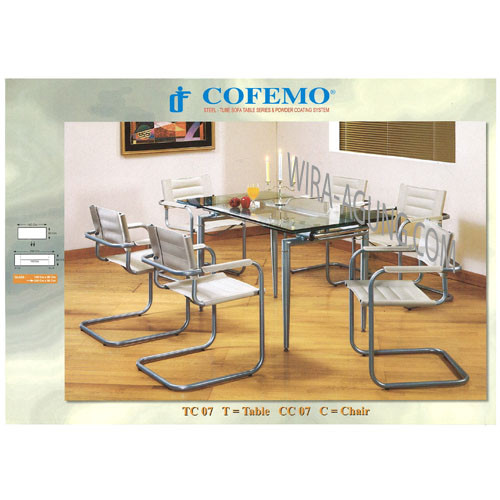 Table TC 07 & Chair CC 07