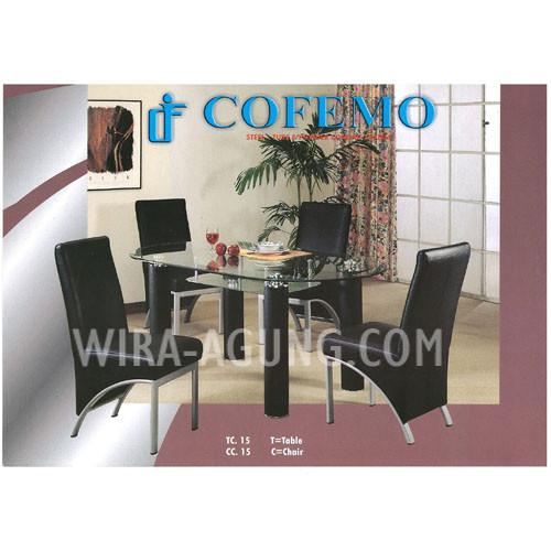 Table TC 15 & Chair CC 15
