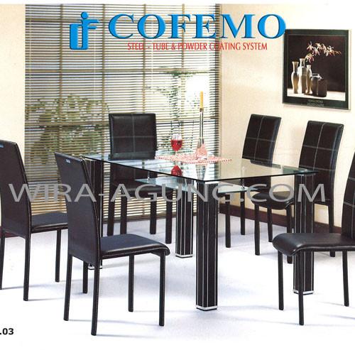 table MC 03 & Chair JC 03